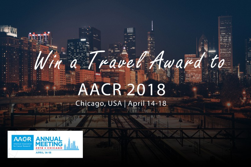 2018 AACR travel award